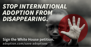 Save International Adoptions: Here's What YOU Can Do